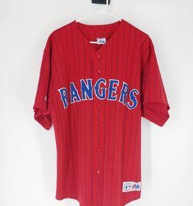 Majestic Stitched Texas Rangers Baseball J30